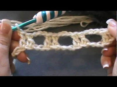 "How to Crochet a ""Boxed Shell Stitch"""