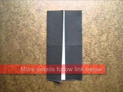 How to Fold Origami Tuxedo - OrigamiInstruction.com