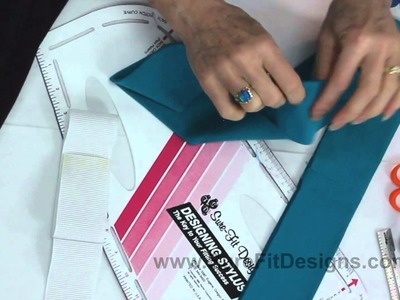 How to Identify Center Back on a Waistband for Pull-On Pants - Knit Tip