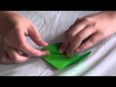 How to make an origami boot