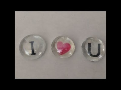 How to make Glass bead Valentine's day Decoration