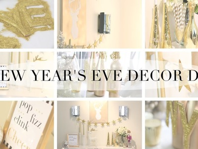 HOW TO: New Years Eve Party DIY Decor