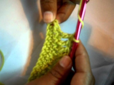 Knitted Double Crochet (KDC) Stitch