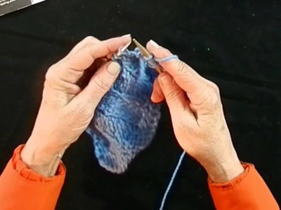 Learn to Do Make 2 Increase and Wave Stitch with Red Heart