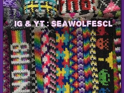Making a Tight Knit bracelet Pattern