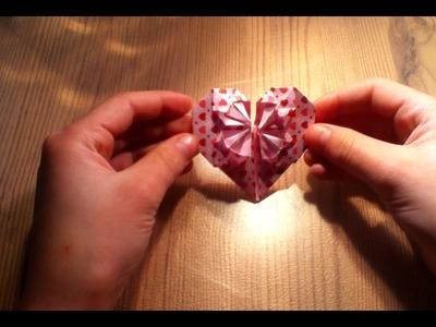Making an Origami Blossom Heart Insructional Video How-to