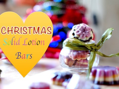 Making DIY Solid Lotion Bars - Great Gift Idea