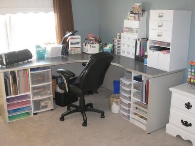 Organization Series: Craft Room Tour
