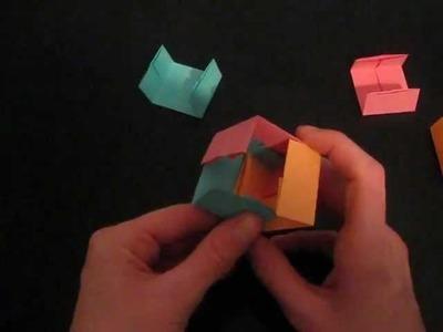 Origami tutorial: Paul jackson`s cube