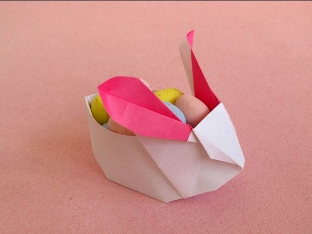 Rabbit Lantern (or Easter Bunny Basket) -Jacky Chan