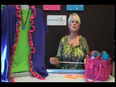 Rainbow Ruffle Cardigan with Mary Taylor