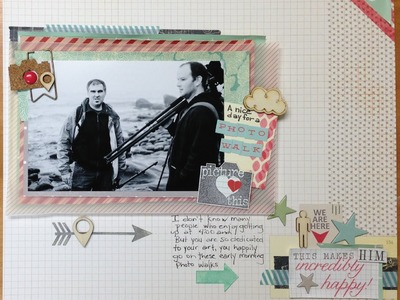 Scrapbooking Process: A Nice day for a Photo Walk