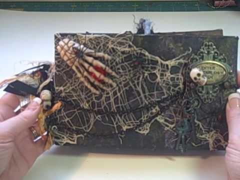 Spooky Paper Bag Mini Album