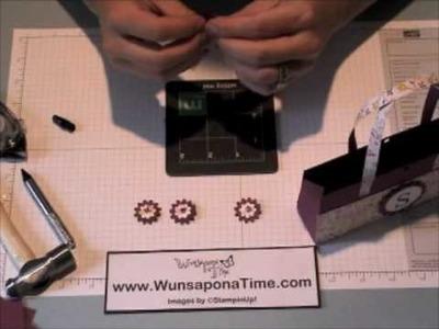 Stampin Up Little Handbag Paper Craft Part II