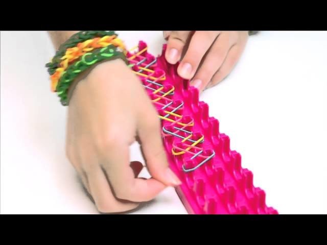 The Cra-Z-Art Cra-Z-Loom makes rubber band jewelry and more!