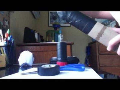 Toilet paper roll gun- how to make and fire