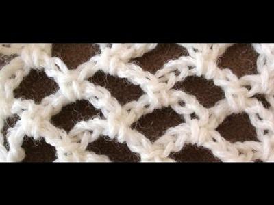 Trellis Crochet Stitch by Crochet Hooks You