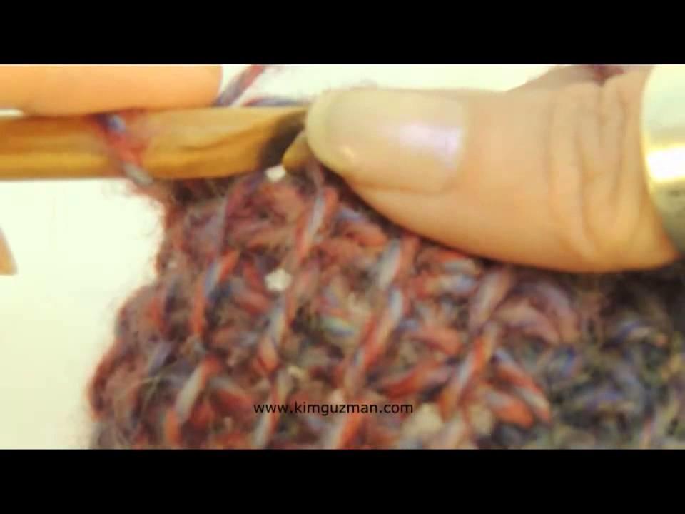 Tunisian Crochet Entrelac: Part 3 Left Handed