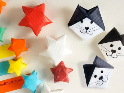 Tutorial to Make a Lucky Star and a Lucky Cat :: Estrella y Gato