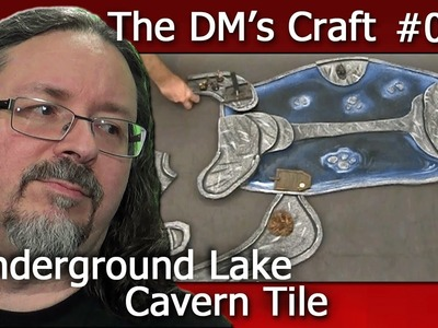 Underground Lake Cavern tile for D&D (The DM's Craft Ep23)
