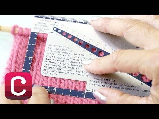 Understanding Knitting Gauge with Debbie Stoler