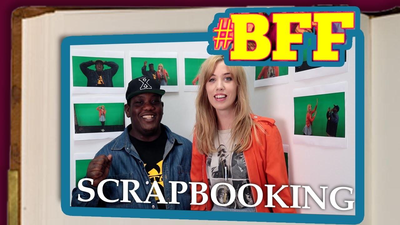 White Girl Teaches Black Guy to Scrapbook - Pamela Pupkin Saves the World Ep. 7