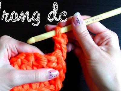 Wrong double crochet - Crochet basics