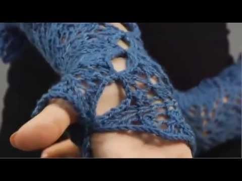 #25 Fingerless Gloves, Vogue Knitting Holiday 2009