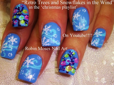 3 Nail Art Tutorials | DIY Easy Christmas Nail Art! | Snowflakes and Xmas Trees!