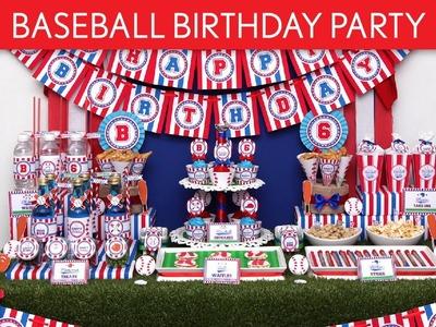 Baseball Birthday Party Ideas. Baseball - B62