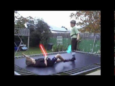 Bob and Jack's Prop Lightsaber's - How to make a prop light saber