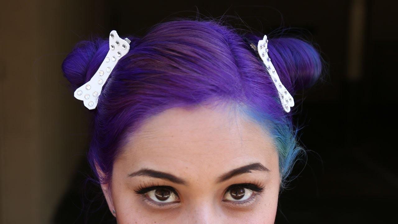 Bone Hair Clip ♥ DIY