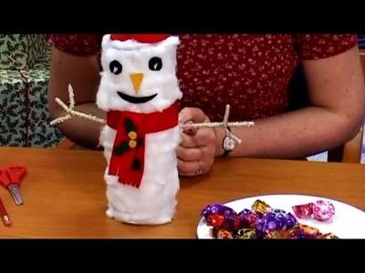 Christmas Craft: Make a Snowman