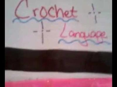 Crochet Language - Crochet Terms
