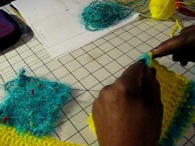 Crocheting a Bikini top pt 3 of 4