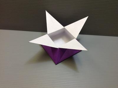 Daily Origami: 024 - Star Box