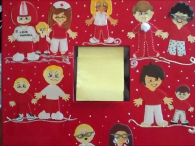 Decorating the outside of your scrapbook album