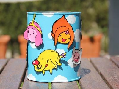 DIY Adventure Time Jar ~ Tarro de Hora de Aventuras