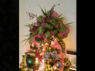 DIY Christmas tree topper ideas
