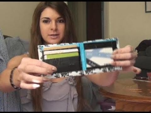 DIY: Duct Tape Wallet ((Bifold with Pockets && ID holder))