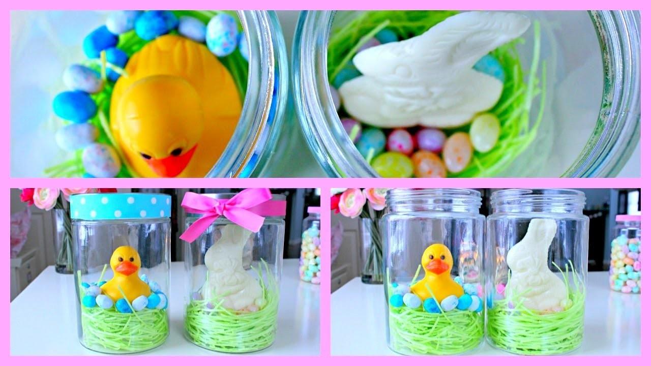 DIY Easter Gift Ideas ~ Easter jars