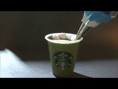 DIY: FAKE Starbucks Frappuccino (NEW & IMPROVED)