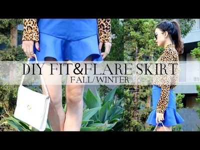 DIY Fit-and-Flare Skirt