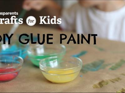 DIY Glue Paint | Crafts for Kids | PBS Parents