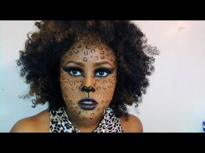 DIY Halloween Costume: Leopard Lady