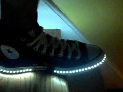 DIY LED shoes for adults