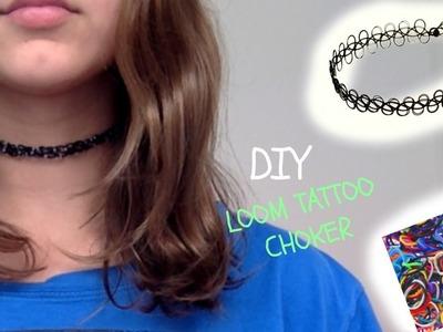 DIY Loom Tattoo Choker