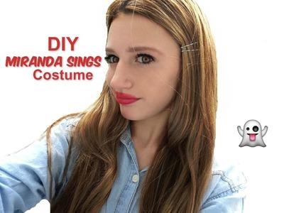 DIY Miranda Sings Halloween Costume 2014