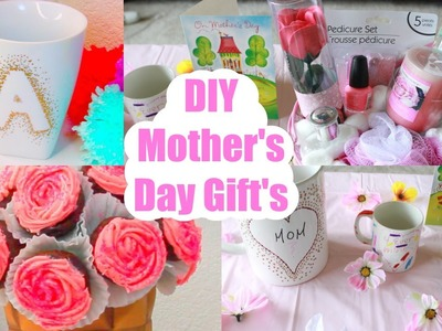 DIY Mother's Day Gifts Ideas ! Pinterest Inspired