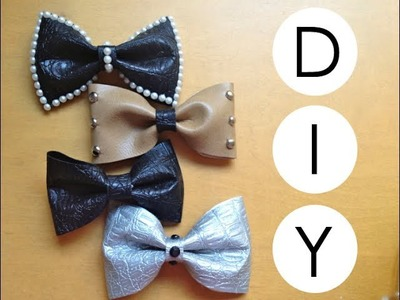 DIY- No-Sew Fabric Hair Bows!